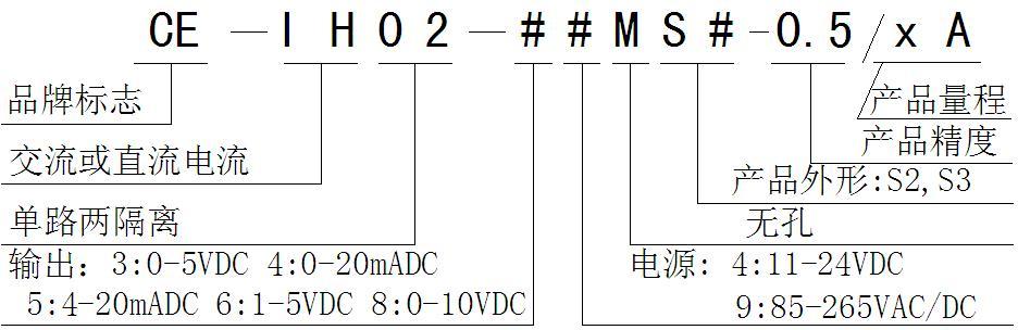 测试条件:辅助电源:+24V,室温:25。 *输入范围:0~1~6A AC/DC; *输出量:同时输出一路电压和一路电流信号: 0-5VDC/0-20mADC或1-5VDC /4-20mADC可自由设定 *辅助电源: 11~28VDC, 85~265VAC/DC *精度等级:0.5级; *负载能力:负载1K(电压输出) ,负载300(电流输出,24V电源时可到800); *温漂: 200ppm/; *隔离耐压:2500 VDC; *响应时间:150mS; *额定功耗:1.
